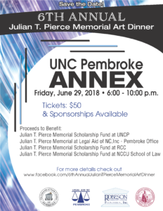 Julian T. Pierce Memorial Art Dinner