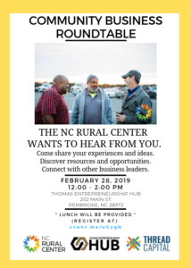 NC Rural Center Roundtable